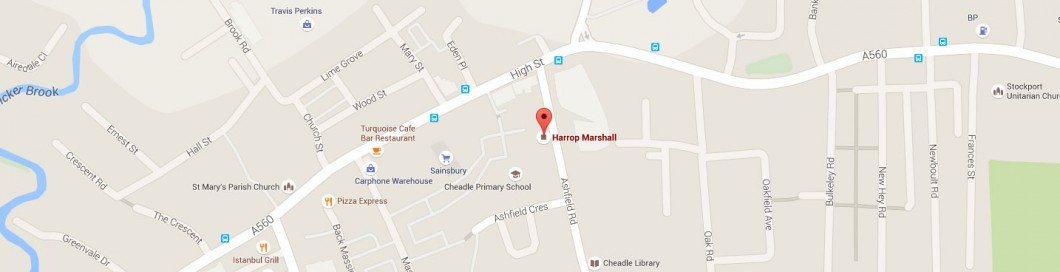 Harrop Marshall Location